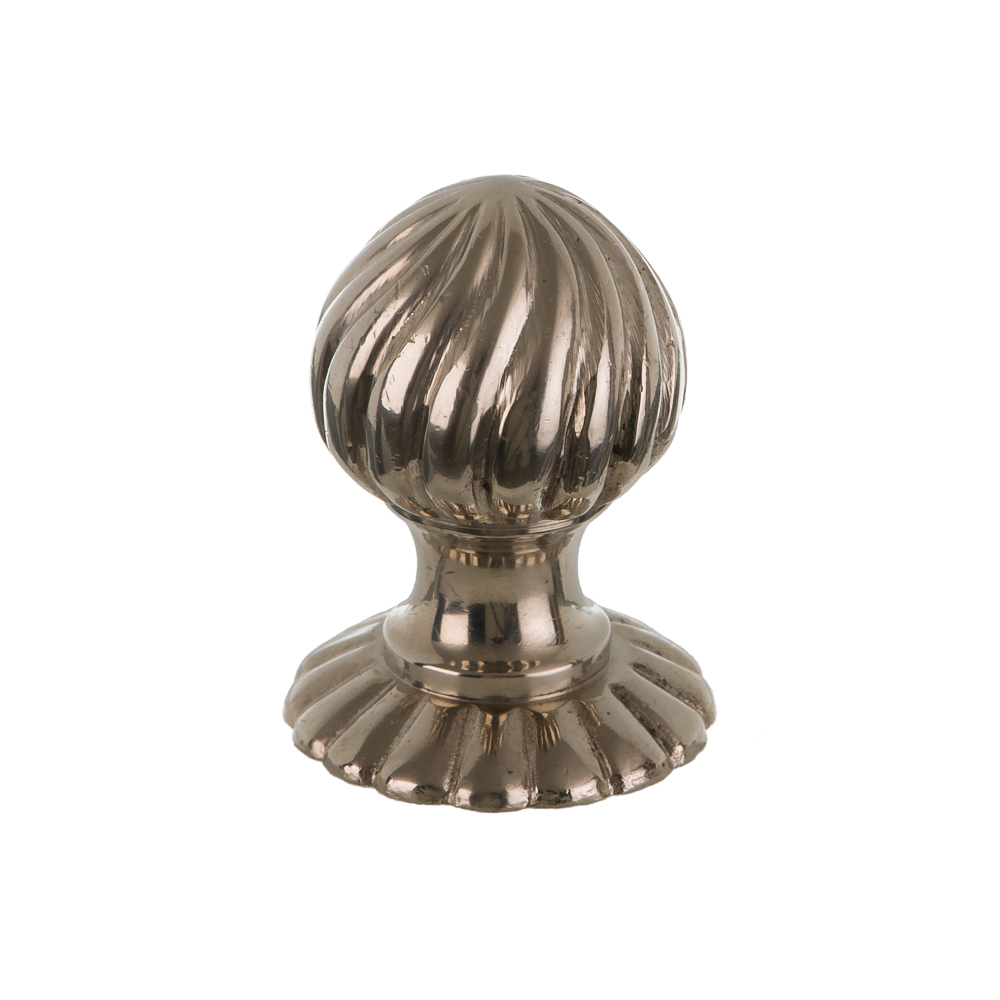 Polished Nickel Cupboard Knob